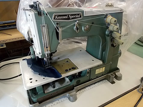 Used Commercial Industrial Coverstitch Sewing Machines 404040 Awesome Used Sewing Machines