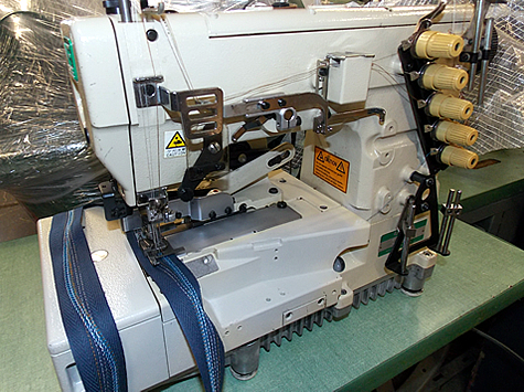 Used Commercial Industrial Coverstitch Sewing Machines 404040 Delectable Coverstitch Sewing Machine