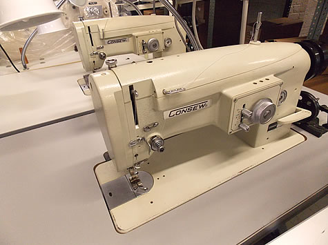 Used Consew Sewing Machines Commercial Industrial Refurbished New Magnificent Industrial Sewing Machines Used